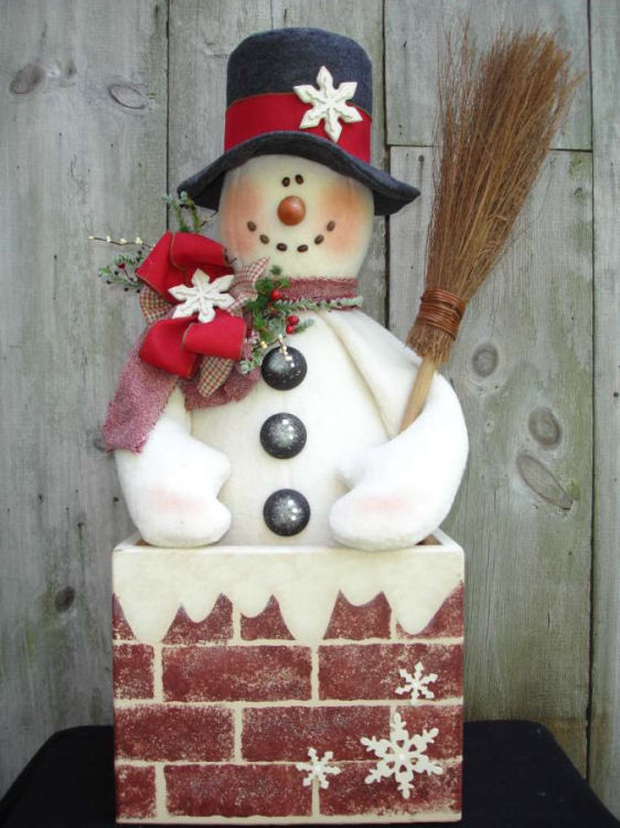 Decorative Woodcraft Tole Painting Pattern Packets By Heidi Mesmerizing Wooden Snowman Patterns