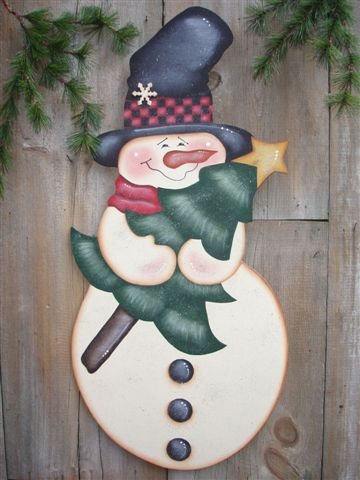 Decorative Woodcraft Tole Painting Pattern Packets By Heidi Impressive Wooden Snowman Patterns